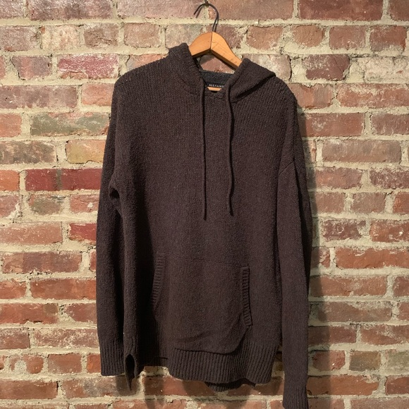 All Saints Other - AllSaints Brown Sweater Hoodie